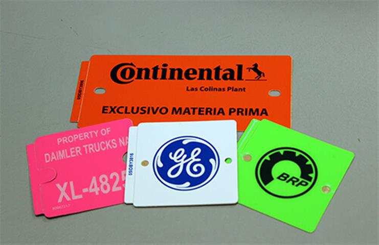 Container ID Tags | Digital Label Printing