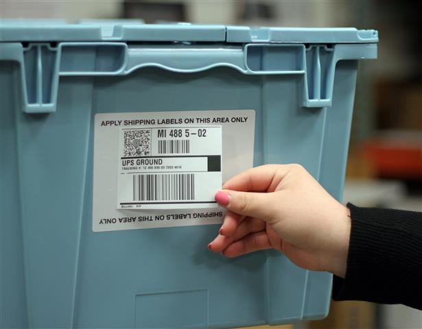 Releasable Shipping Labels